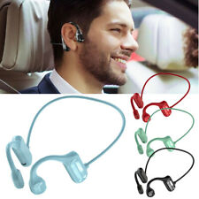 Bone Conduction Headphones Bluetooth Earbuds Sports Headset with Stereo Mic