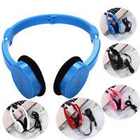 Super Bass Stereo Headphones On Ear Foldable Headband Headset For Kids Earphone