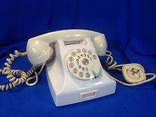 Ericsson - PTT - anni 40 - Telefono da TAVOLO in bachelite bianco