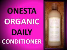 NEW ONESTA ORGANIC VEGAN DAILY CONDITIONER FOR ALL HAIR TYPES COLOR SAFE 16.3 OZ