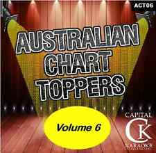 Australian Chart Hits Karaoke set of 6 discs or buy individually