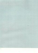 Over The Moon Press   White on White Plaid 12x12 Paper ~ Vellum