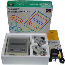 Nintendo Super Famicom Console SHVC-001 System Japan Import SFC Working Complete