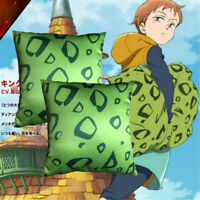 Cartoon The Seven Deadly Sins Harlequin King Square Throw Pillow Cushion Doll