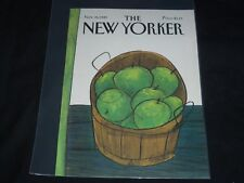 1981 NOVEMBER 16 NEW YORKER MAGAZINE FRONT COVER ONLY - GREAT ART FOR FRAMING