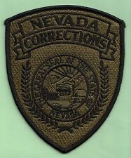 J27 * SUBDUE NEVADA CORRECTIONS OFFICER STATE POLICE SWAT PATCH FBI JAIL PRISON