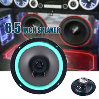 55A0 Coaxial 6.5 Inch Black Auto Speakers Porfessional Universal Stereo