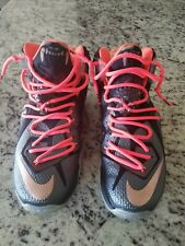 Nike Lebron 12 Elite Rose Gold Size 10 Pre-owned