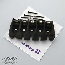 CORDIER / CHEVALET BASSE 5 cordes SANDBERG BASS Bridge 5 strings BLACK SB5B