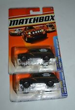 2010 MATCHBOX CITY ACTION FORD F-100 PANEL DELIVERY 69/100 TWO CAR SET