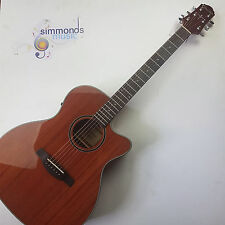 Crafter HTC240EQMH/BR Electro Acoustic Guitar