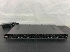Rane DMS 22, micrófono doble etapa, preamplificador de micrófono, ecualizador de 3 bandas, con cable de alimentación Vintage