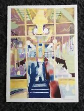 "GLYNN BOYD HARTE 1948-2003 Printers Proof LITHOGRAPH ""Interior at Elena's Signed"