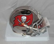 Warren Sapp Signed Autographed Tampa Bay Buccaneers Chrome Mini Helmet HOF JSA