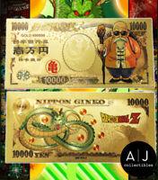 Dragonball Z Dragon Ball Super Master Roshi Gold Metal 10,000 Yen
