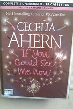 If You Could See Me Now by Celia Ahern: Unabridged Cassette Audiobook (I 5)