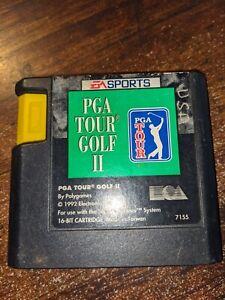 PGA Tour Golf II (Sega Genesis, 1992 Cartridge only