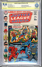 Justice League #82 NM+ 9.6 Neal Adams Signature Series Monterey Superman Batman