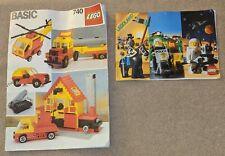 Vintage LEGO Set 740 Basic Building Set (1985) INCOMPLETE With Instruction Book