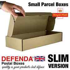 10 x Linea Sottile Royal mail piccolo pacco scatole Pip postale pacchetto 422mmx170mmx73mm