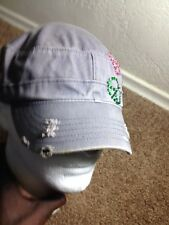 Gray Roxy Painters Hat  Adjuatable 100% Cotton GXN