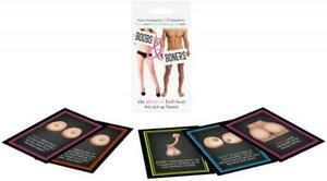 Boobs and Boners Card Game |  Adult Truth and Dare Drinking Party Game