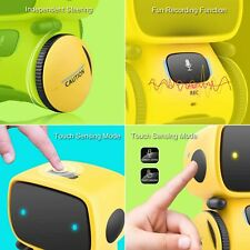 Smart Robot Toys Voice Control Dancing Walking Interactive Educational Toys Gift