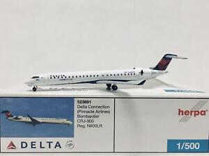 Herpa Wings Delta Connection Bombardier CRJ-900 1:500 N600LR 523691