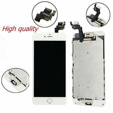 "For iPhone 6 4.7"" White LCD Screen Display Digitizer Assembly Home Button+Camera"