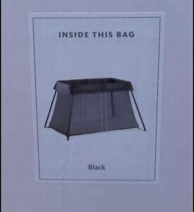 BabyBjörn Travel Crib Light - Black (040280US), One Size