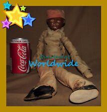 Vintage antique dolls Noir Grande AMERICANA AMERICA AMERICAN nibur Boy