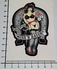 Pin UP Miss B Haven ADESIVI STICKER GIRLS Poker Tatuaggio Lucky 13 DECAL v8 pu054