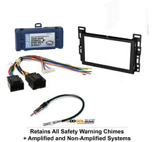 Double DIN Car Stereo Dash Radio install Kit Harness for 2008-12 Chevy Malibu