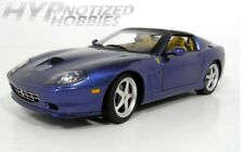 HOT WHEELS 1:18 ELITE FERRARI SUPERAMERICA DIE-CAST BLUE J2922