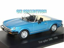 1:43 FIAT SPIDER 2000  (1980) + COPERCHIO BOX RIGIDO