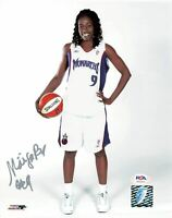 Hamchetou Maiga Signed 8x10 photo WNBA PSA/DNA Autographed Monarchs