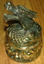 Vtg Dragon Head Incense Cone Burner Japan Bronze or Brass