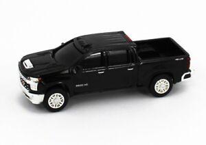1:64 ERTL *BLACK* 2020 Chevrolet SILVERAD 2500 HD Pickup Truck NEW w/TAG