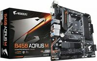 NEW GIGABYTE B450 AORUS M M-ATX Motherboard [with AMD B450 chipset]