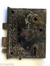Antique Eastlake Ornate Victorian Era BLW Rim Lock