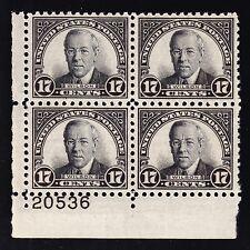 Us 697 17c Wilson Plate # 20536 Block of 4 Mint Vf-Xf Og Nh Scv $52.50