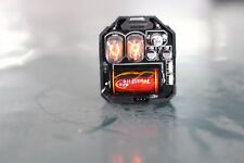 With Tubes - IN-17 NIXIE TUBE Watch - 100% Assembled - Nixie Watch Clock