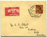 APEX LONDON Air Post EXHIBITION 1934 GREAT BRITAIN Airmail Postage Cover England