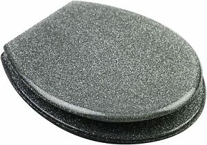 New Glitter Diamante Luxury Toilet Seat With Fittings Universal Toilet easy fit