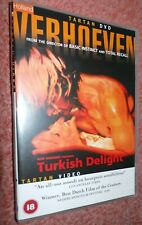 Turkish Delight (1973) Paul Verhoeven - Rare Tartan DVD, DUTCH ADULT CLASSIC