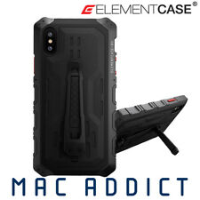 Element Case Black Ops Elite Premium Rugged Case W Stand & Holster iPhone XS Max