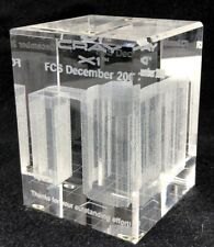 Cray Research - Cray X1 Glass Paperweight - First Customer First 2002, in Box