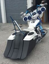 Harley Softail Drop Back Saddlebags Molded side Covers overlay Fender