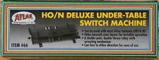 Atlas Deluxe Under-Table Switch Machine Item #66  HO/N