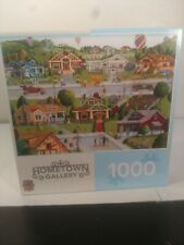Master Pieces 1000pc Art Poulin Puzzle Bungalowville 2018 Complete